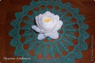 Cara Membuat Bunga Teratai Putih dari Sendok Plastik