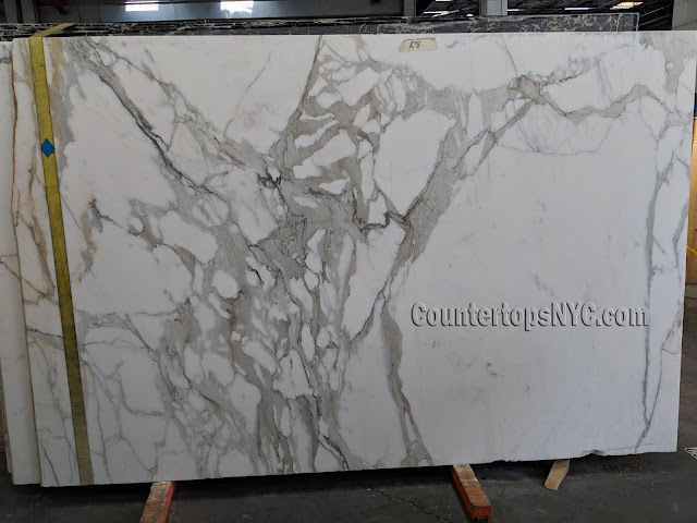 Calacatta Borghini Marble Slabs NYC