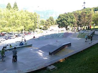 Skatepark annecy
