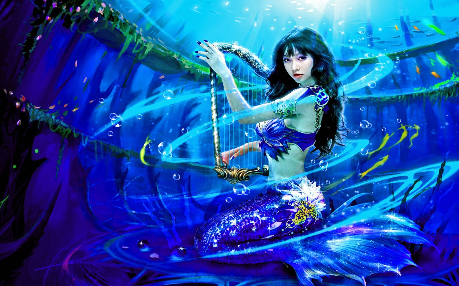 Fantasy-photoshoot-Asian-girl-as-mermaid-abstract-theme-picture-HD.jpg