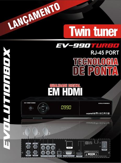 EVOLUTIONBOX ATUALIZAÇÃO DO EV 990 TURBO PARA O EV 960 rj