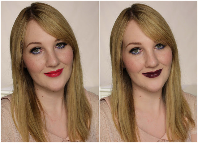 BYS Lipsticks - Read My Lips, Vamp Swatches & Review