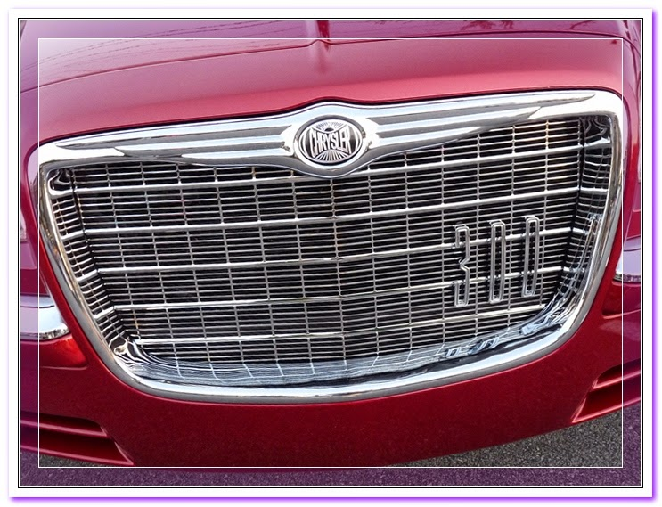 BLACK LUXURY FRONT BUMPER ABS GRILL/GRILLE/FRAME 11-13 ...  |Chrysler 300 Grills