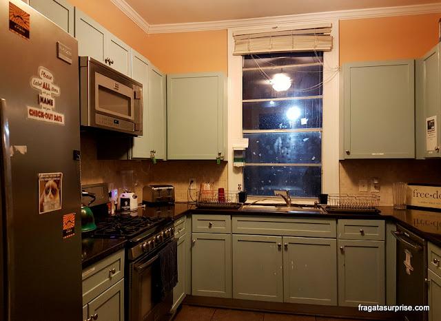 Cozinha do IHSP French Quarter House, Hotel em Nova Orleans