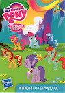 My Little Pony Wave 11 Purple Wave Blind Bag Card