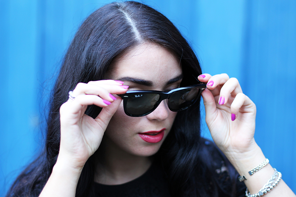 Ray-Ban Wayfarer 2140 sunglasses - UK fashion blog