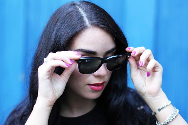 Ray-Ban Wayfarer 2140 sunglasses - UK fashion blog