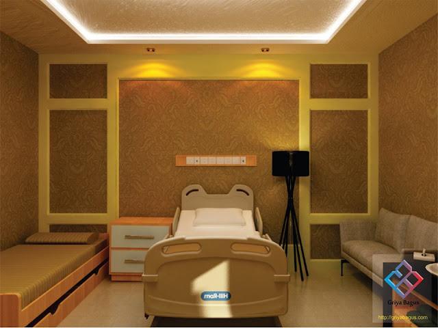Desain Interior Ruang Rawat Inap Pasien VVIP Rumah Sakit Panti Rapih Yogyakarta Gambar 3