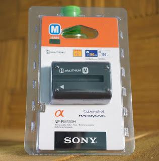 Jual Baterai Sony A57, a58, a77, a99 ( NP-FM500h )