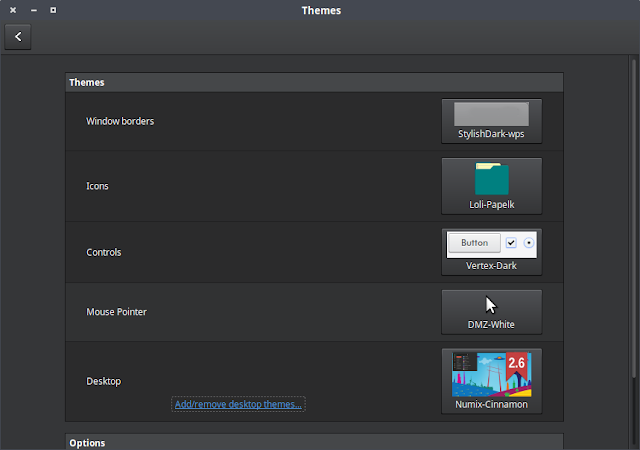Cara Instal Desktop Theme di Linux Mint cara instal tema di linux mint 17.3 Cara Instal Icon Theme di Linux Mint Untuk mengubah tema desktop Linux Mint, anda cukup membuka Theme Settings, dan pada pilihan Desktop silahkan pilih tema desktop Linux Mint yang ingin anda gunakan. Selesai.
