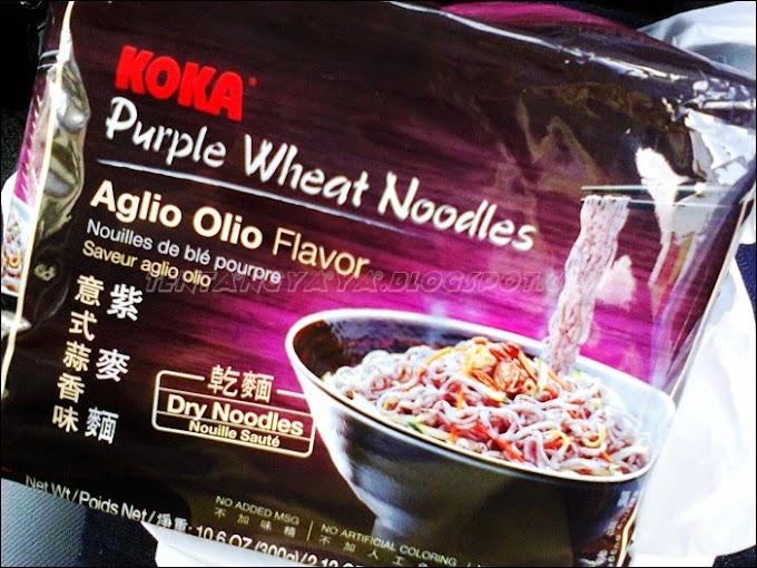 WORDLESS WEDNESDAY : PURPLE NOODLES