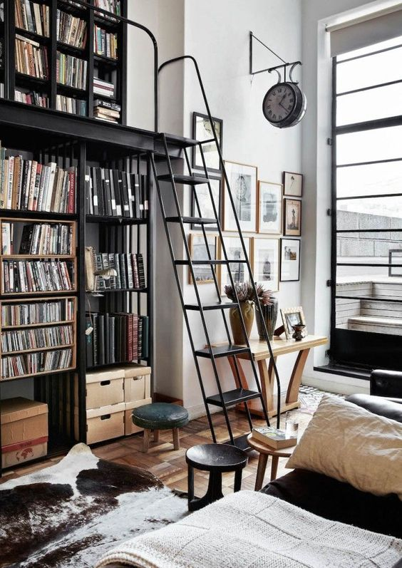 INSPIRATION: 10 Places With Bookshelves