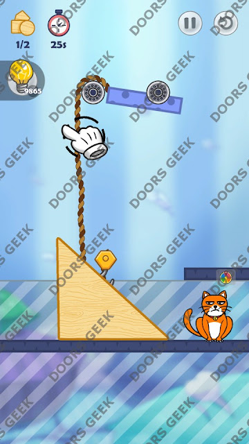 Hello Cats Level 69 Solution, Cheats, Walkthrough 3 Stars for Android and iOS