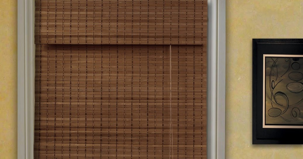 Bamboo Roman Blinds Bamboo Valance Photo