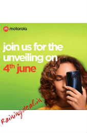 Moto G6, Moto G6 Play Set to Launch in India on June 4  rainingdeal.in