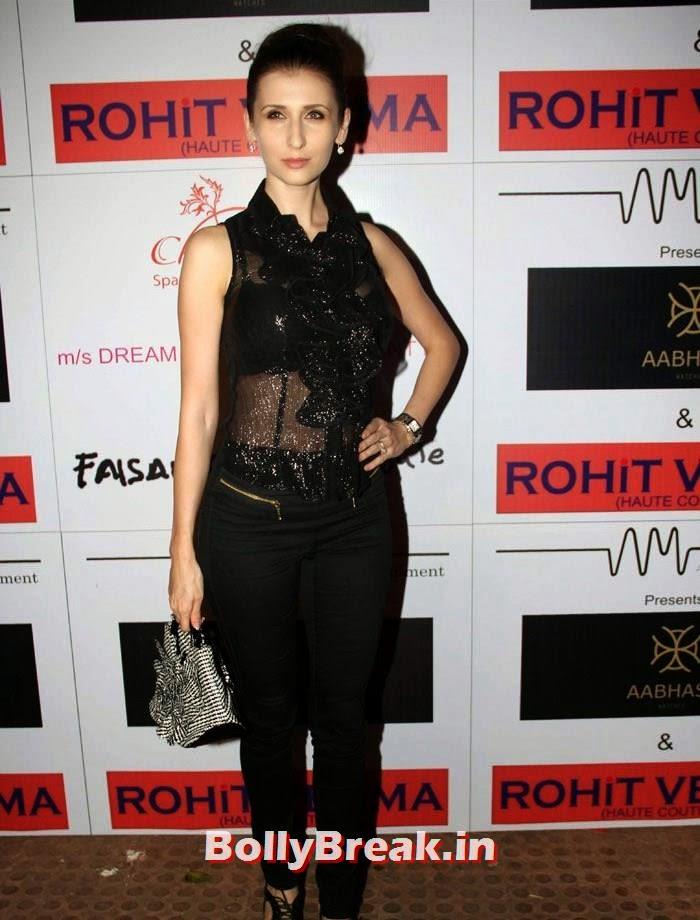 Claudia Ciesla, Sunny Leone, Koena Mitra Hot Pics from  Rohit Verma's Bridal Show