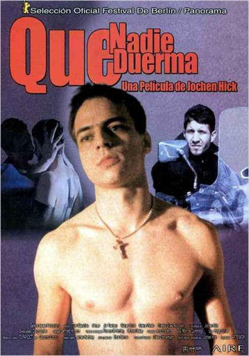 CARTEL: Que Nadie Duerma - No One Sleeps - PELICULA - 2000