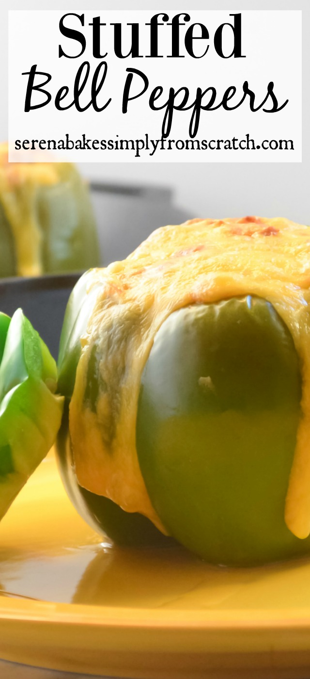 Classic Stuffed Bell Peppers the ultimate comfort food!