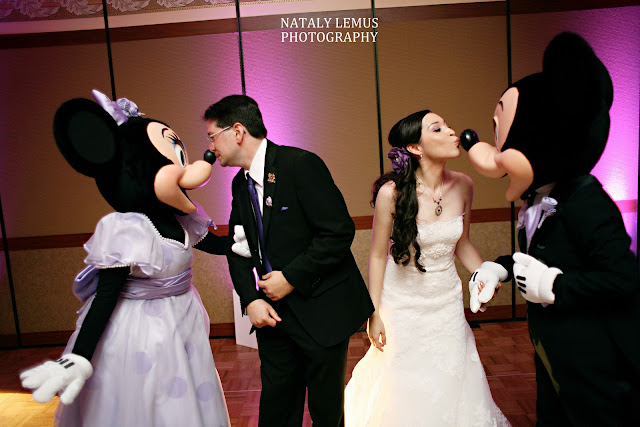 Mickey and Minnie at your Disney Wedding