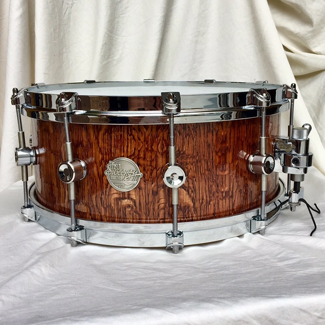Tropical Exotic Hardwoods Snare Drum By Docsweeneydrums
