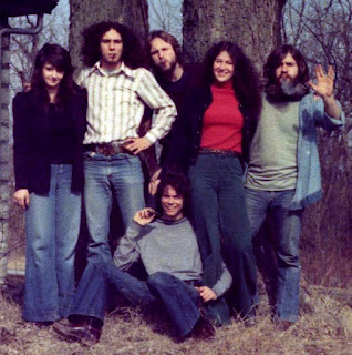 JPT Scare Band with Greg Gassman & Friends at the Stone House on Crooked Road near Parkville, Missouri - 1975.