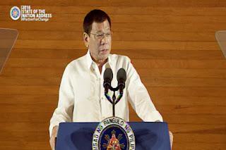 Duterte said No more fingerpointing