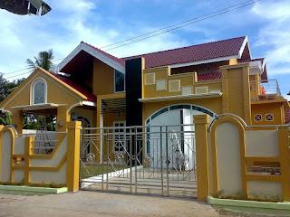 gambar tampak depan rumah minimalis 1