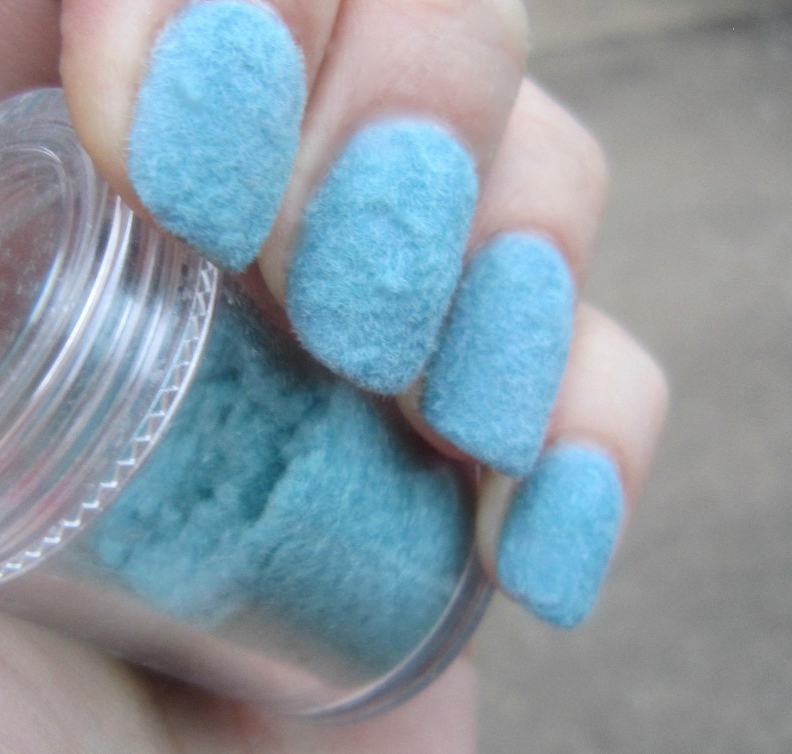 Concrete And Nail Polish Flocking Powder