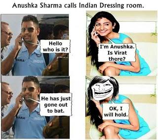 Anushka Sharma Calls Virat Kohli