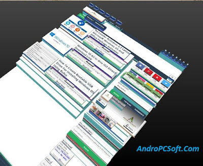 3D view in firefox browser