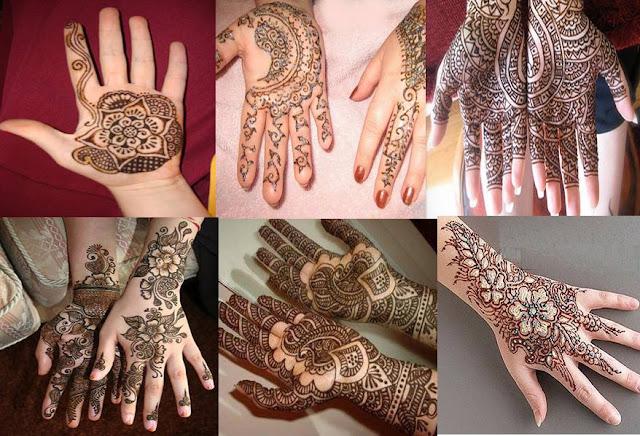 Bridal Mehandi Designs for Hands 2