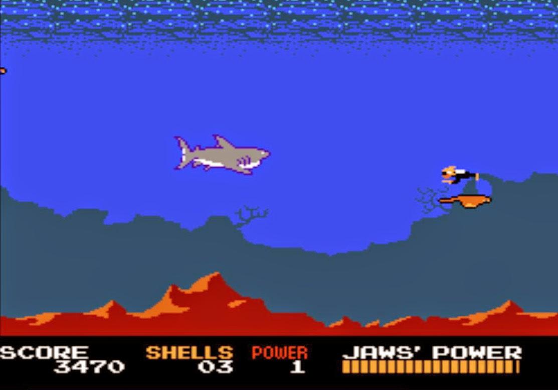 Tiburón videojuego NES