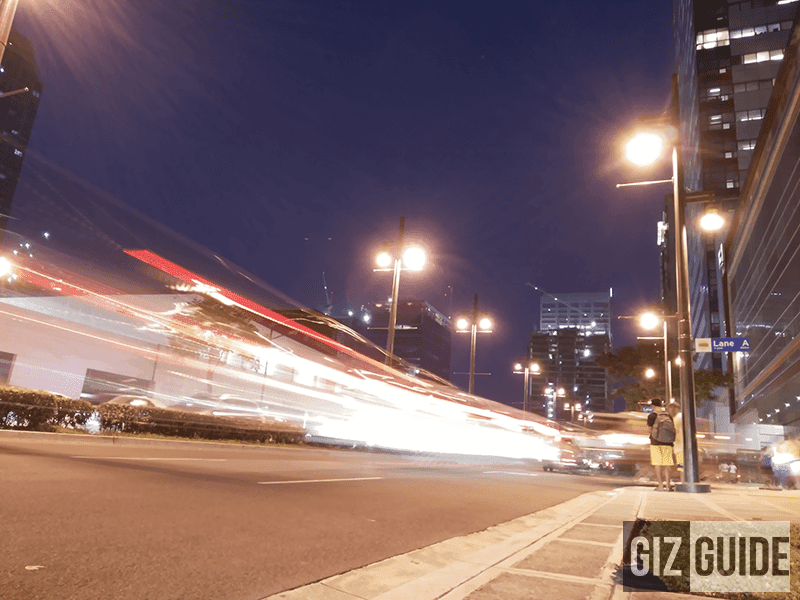Another long exposure (slow shutter) shot