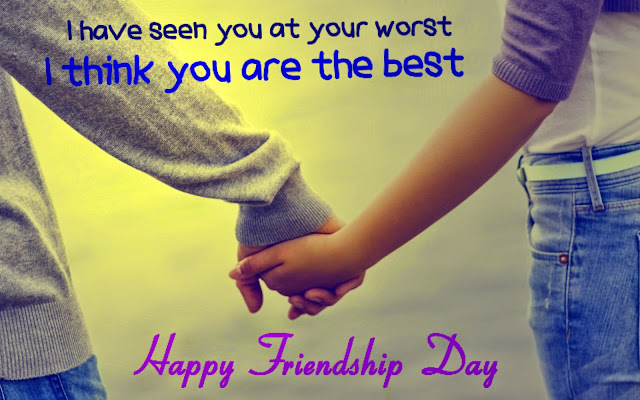Friendship day messages for best friend in English Hindi