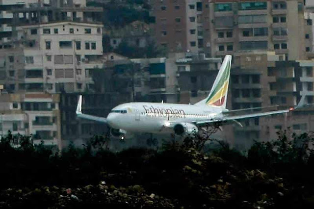NO SURVIVORS IN ETHIOPIAN AIRLINES FLIGHT CRASH