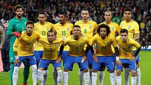 Brazil đang có lợi thế nhiều ở bảng A