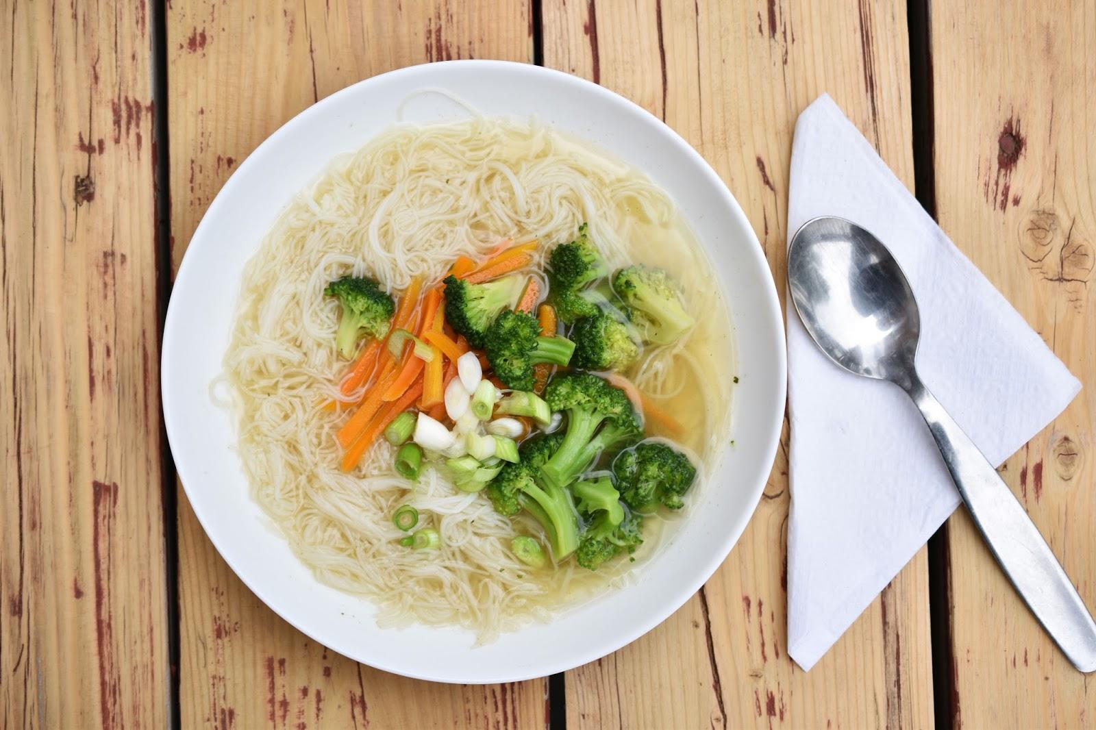 Ginger Miso Soup Thug Kitchen