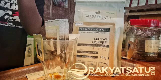 Wow! Gandrial Coffee Shop Hadirkan Drip Bag Coffee Pertama di Toraja Loh