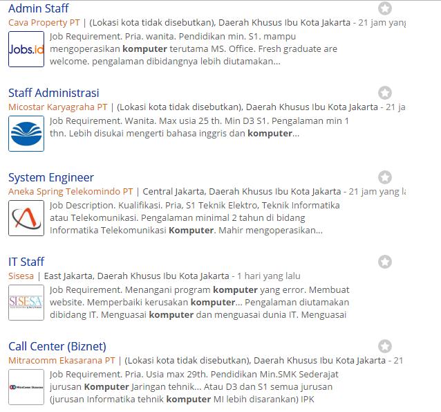 Cara mencari lowongan kerja via online,neuvoo mesin pencarian lowongan kerja