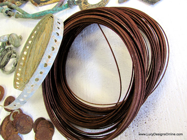 DIY rusty wire