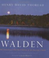 Book cover for Walden by David Thoreau
