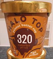 Halo Top Peanut Butter low calorie ice cream