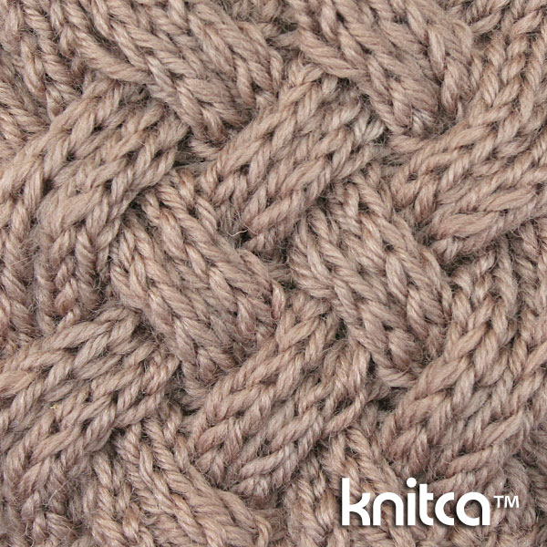Different Types Of Knitting Stitches For Scarves : knitca: Reversible cable stitch for beautiful knit snood or cowl