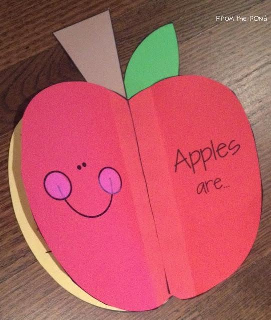 Apple adjectives craft
