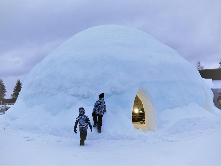 Lumi Rovaniemi Pajakylä