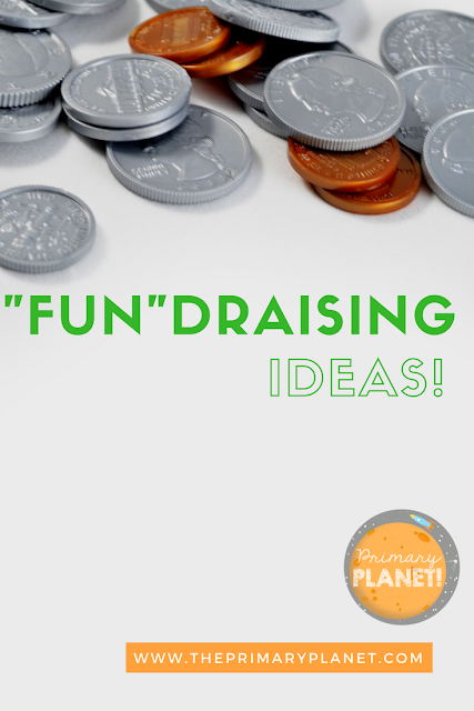 """Fun""draising ideas!  Raise a little money the fun way!"