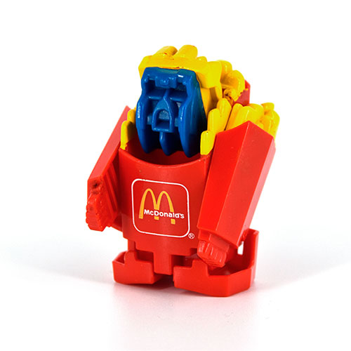 McTransformers 1987 Large Fries Robot 2