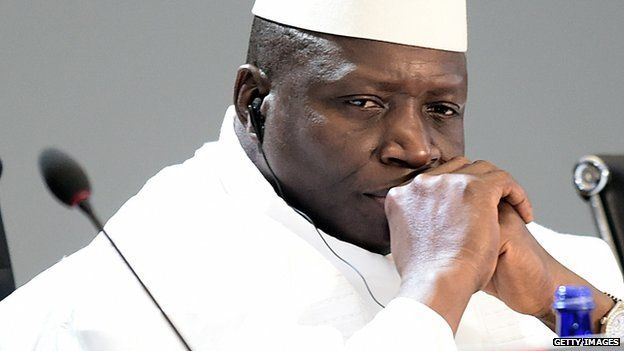 Yahya Jammeh Former President of Gambia stole $50m
