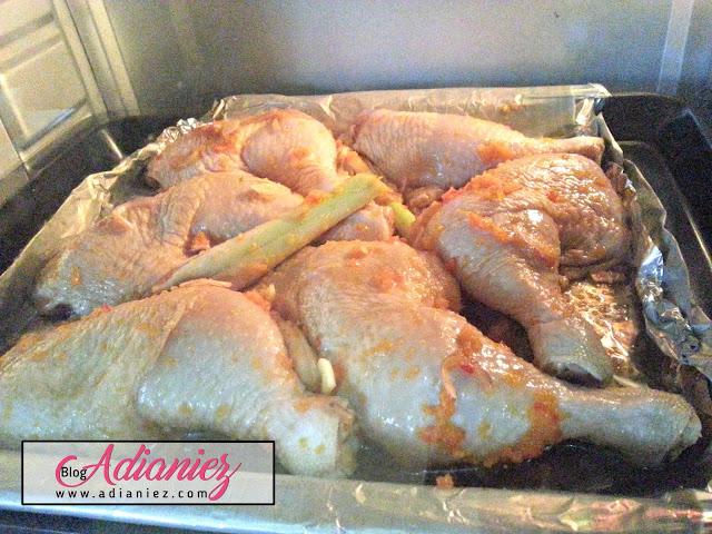 Ayam Disiram Kuah Percik