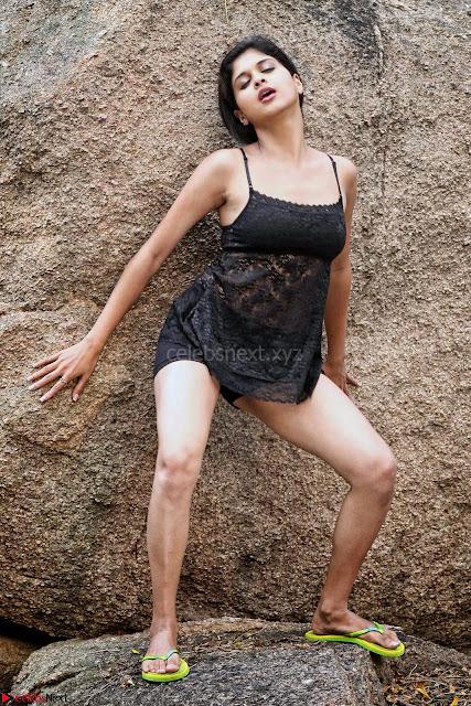 Naveena   New South Indian Telugu Actress Spicy Pics ~  01.jpg